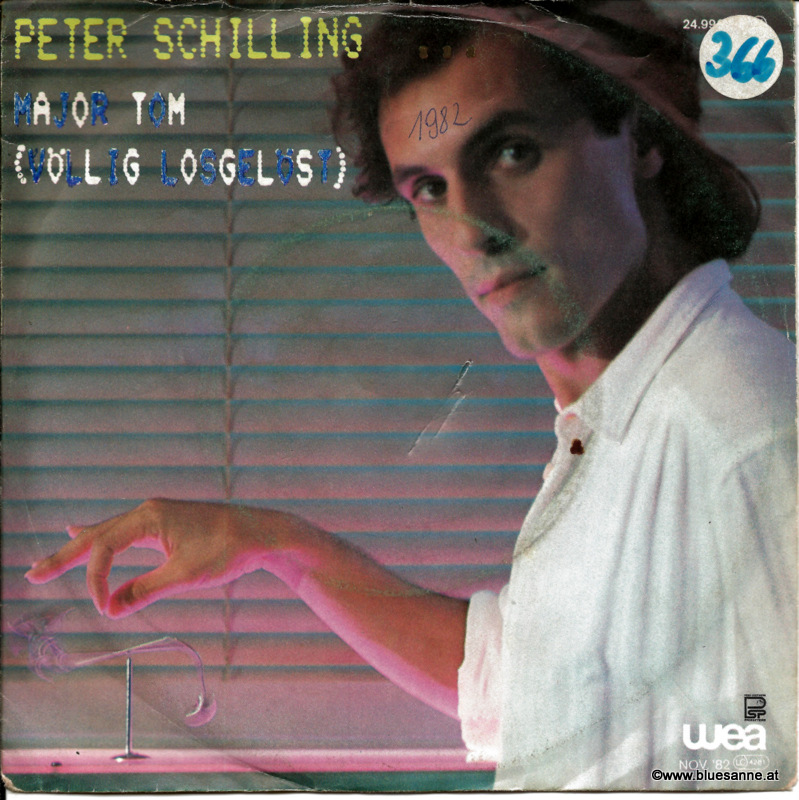 Peter Schilling Major Tom 1982 Single