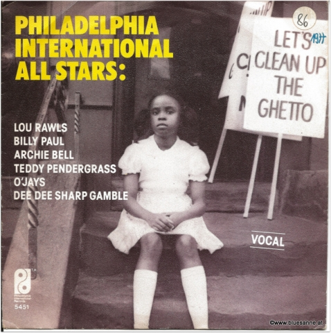 Philadelphia International All Stars Lets clean up the Ghetto 1977 Single
