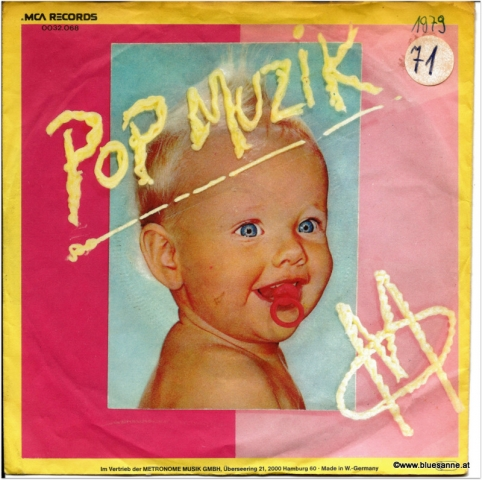 Pop Muzik M 1979 Single