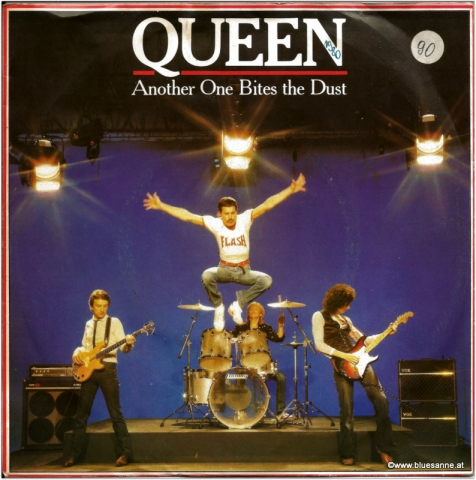 Queen Another one bites the dust 1980 Single