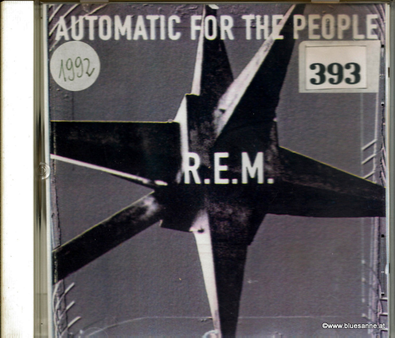 R.E.M. Automatic for people 1992 CD