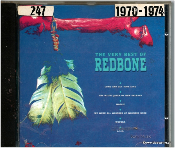 Redbone The very best of CD