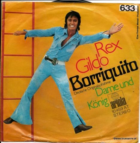 Rex Gildo – Borriquito 1971 Single