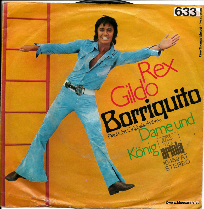 Rex Gildo ‎– Borriquito 1971 Single