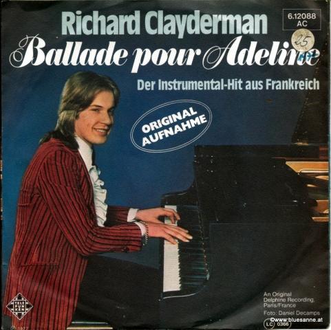 Richard Clayderman – Ballade Pour Adeline 1977