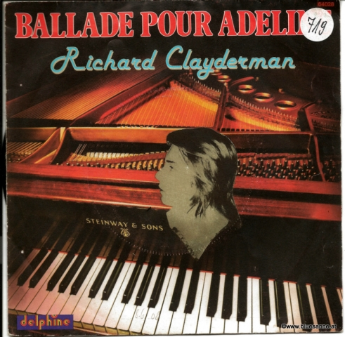Richard Clayderman – Ballade Pour Adeline 1977 Single
