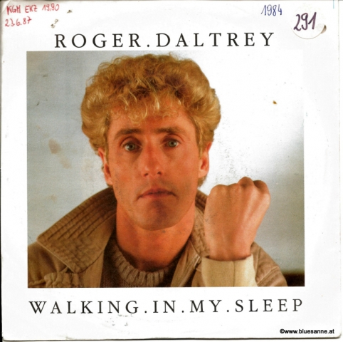 Roger Daltrey ‎– Walking In My Sleep 1984