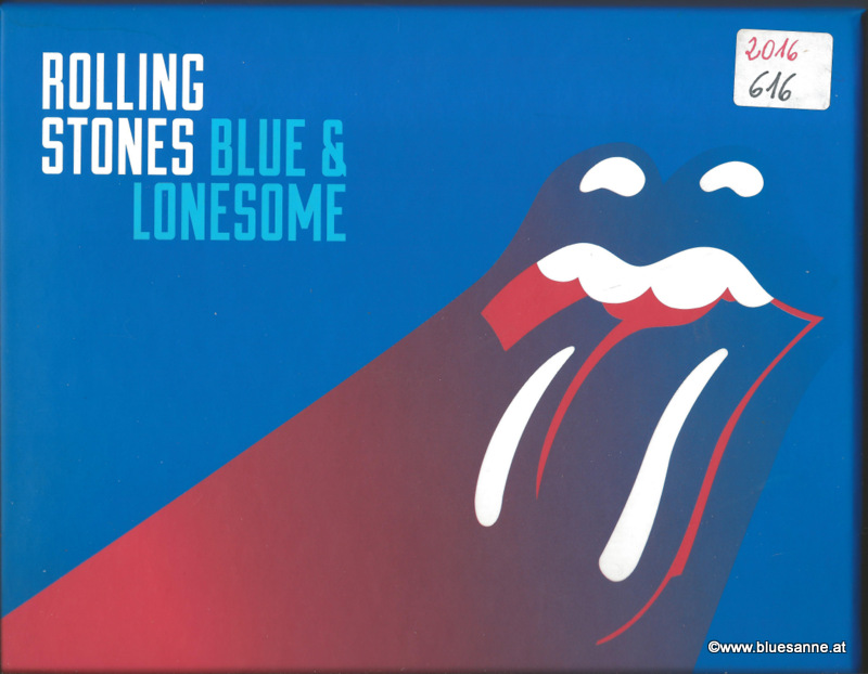 Rolling Stones Blue + Lonesome 2016 CD