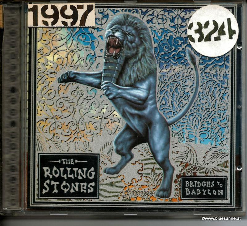 Rolling Stones Bridges to Babylon 1997 CD