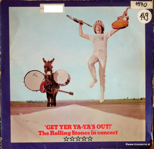 Rolling Stones Get yer Yas out 1970 LP