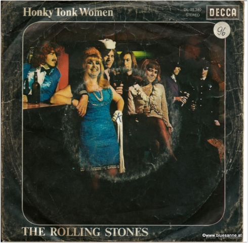 Rolling Stones Honky Tonk Woman 1969 Single