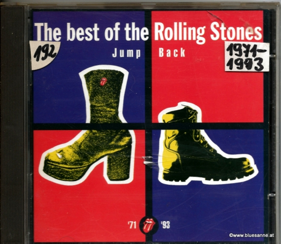 Rolling Stones Jump Back 1993 CD