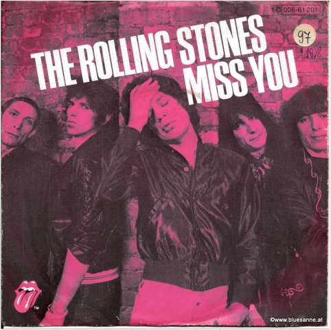 Rolling Stones Miss You 1978 Single