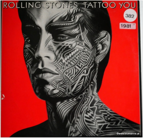 Rolling Stones Tattoo You 1981 LP