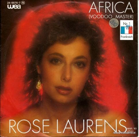 Rose Laurens – Africa (Voodoo Master) 1983