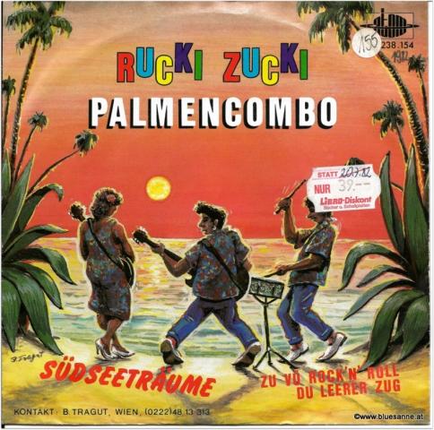 Rucki Zucki Palmencombo Südseeträume 1982 Single