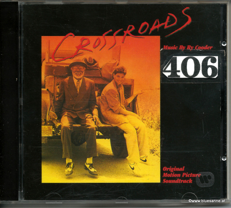 Ry Cooder ‎– Crossroads Original Motion Picture Soundtrack 1986 CD
