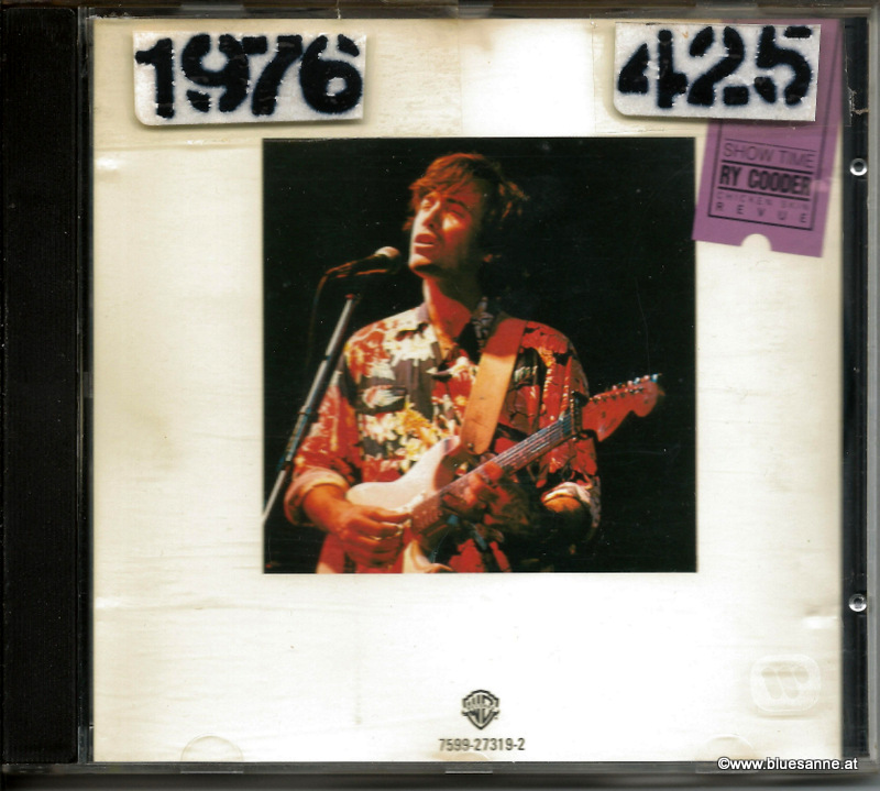 Ry Cooder ‎– Show Time 1976 CD