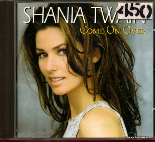 Shania Twain Come on over 1998 CD