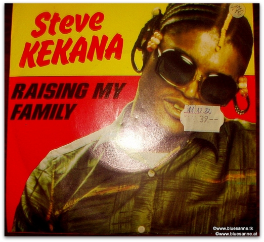 Steve Kekana Raising my family Single