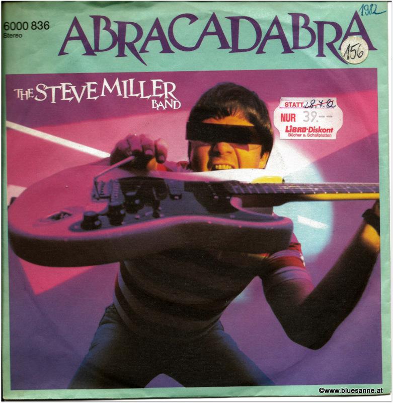 Steve Miller Abracadabra/1982 Single