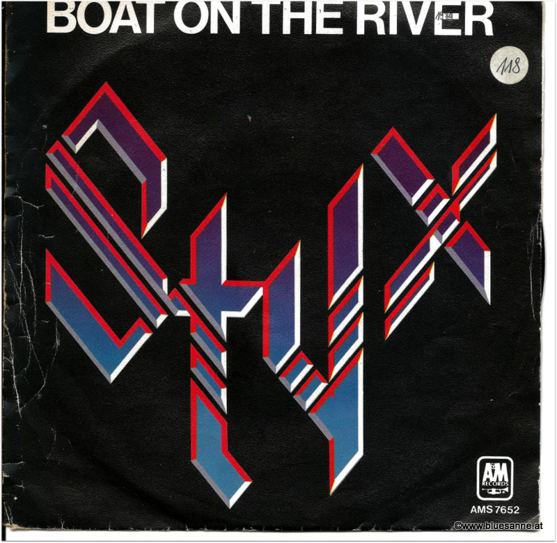 Styx Boat on the river 1979 Single