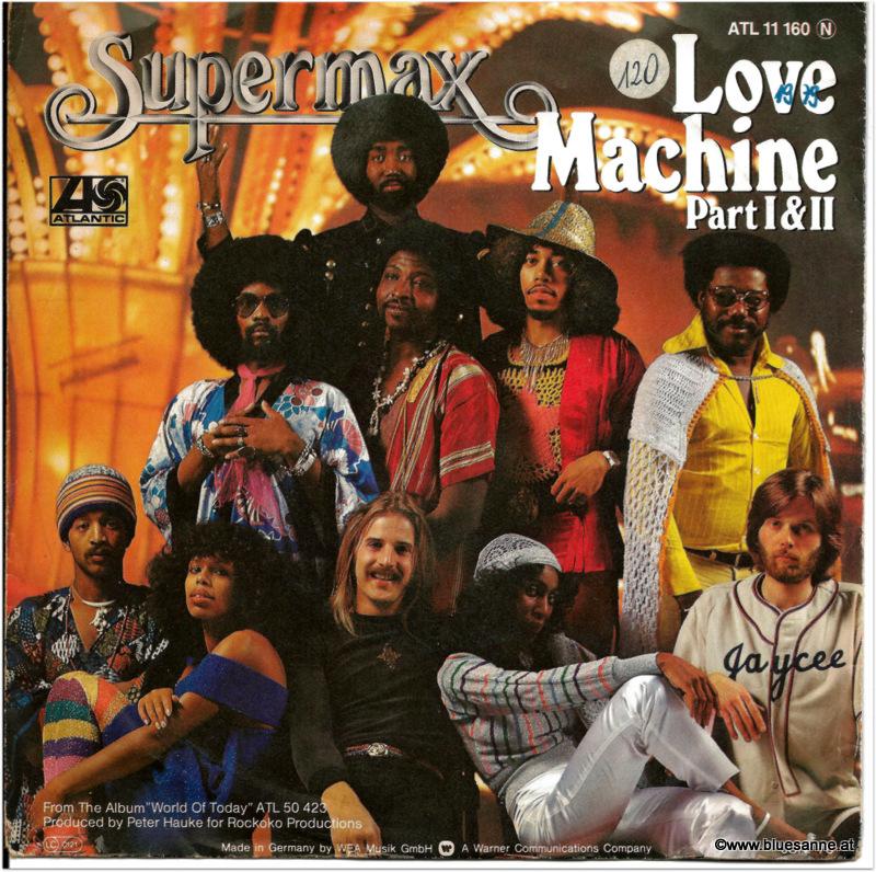 Supermax Love Machine 1979 Single