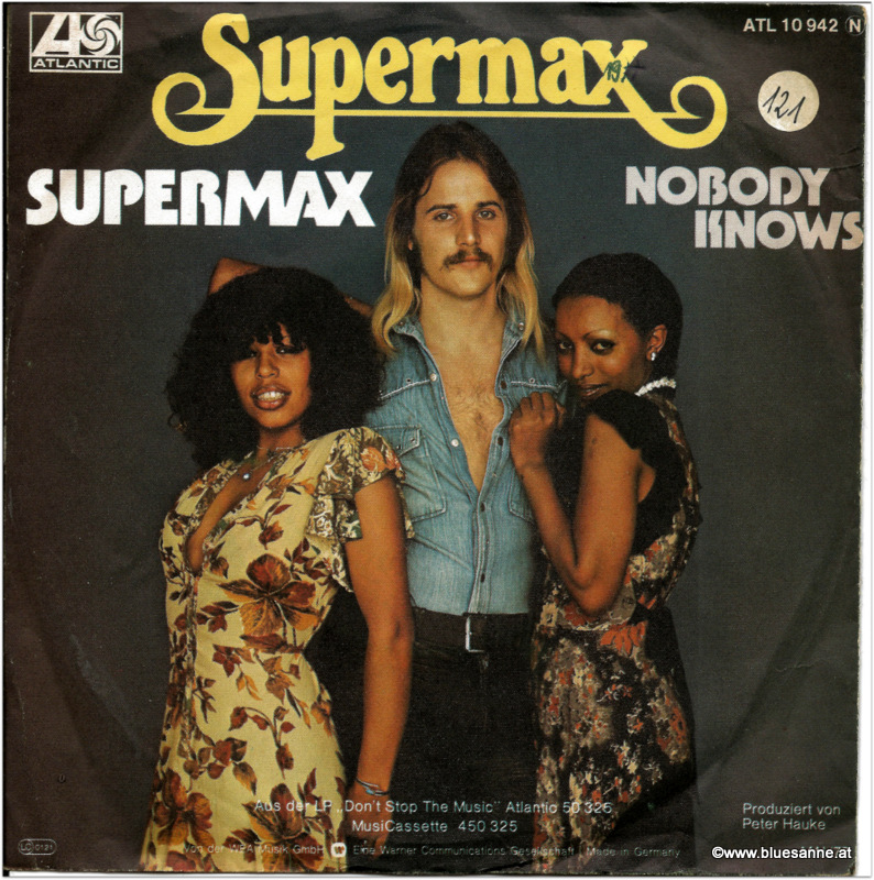 Supermax Nobody knows Single