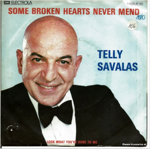 Telly Savalas Some broken hearts never mend 1980 Single