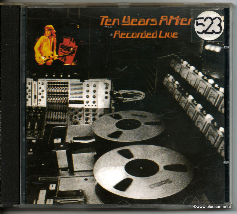 Ten Years After ‎– Recorded Live 1973 CD