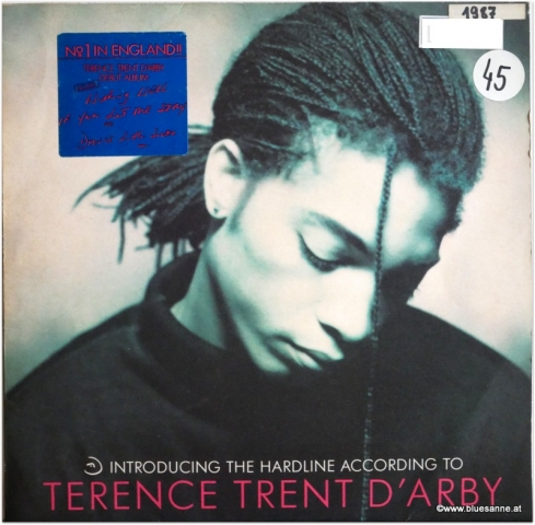 Terence Trent DArby ‎Introducing The Hardline According 1987 LP