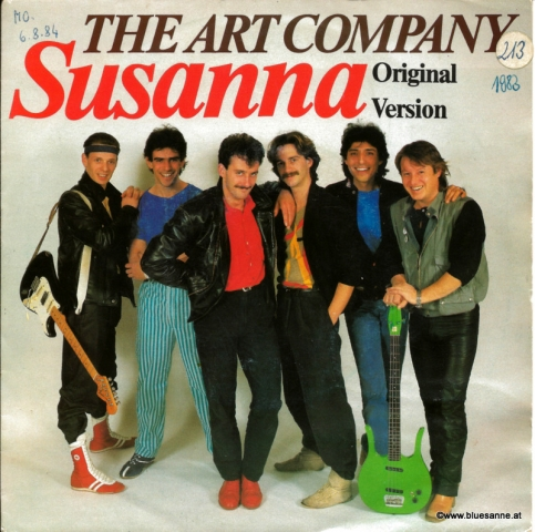 The Art Company Susanna 1983 Single