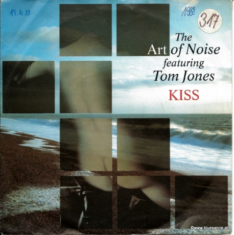 The Art Of Noise Featuring Tom Jones ‎– Kiss 1988
