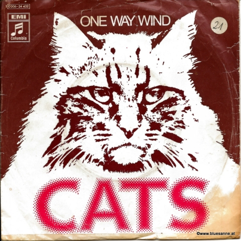The Cats ‎– One Way Wind 1971