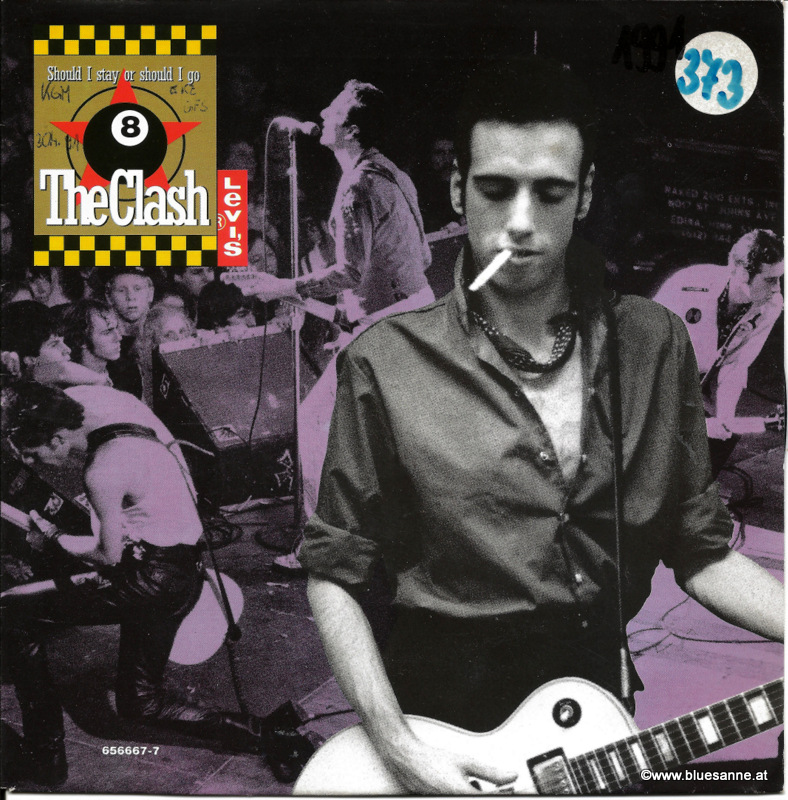 The Clash ‎– Should I Stay Or Should I Go 1991