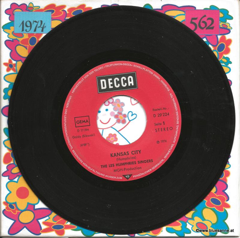 The Les Humphries Singers – Kansas City 1974