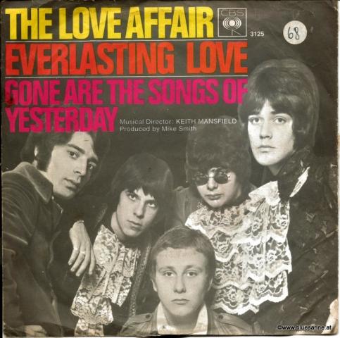 The Love Affair – Everlasting Love 1967