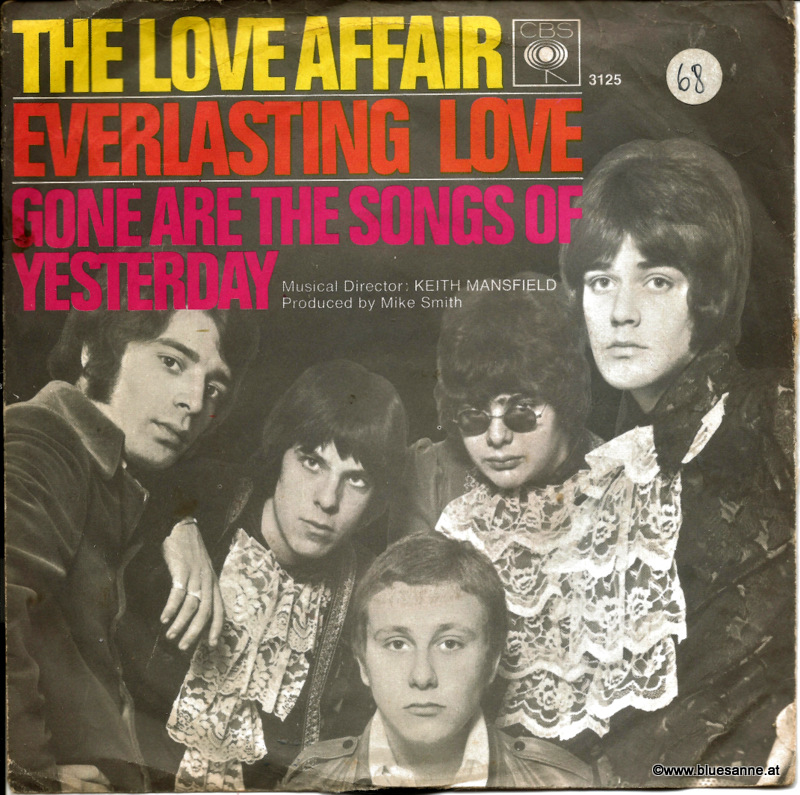 The Love Affair ‎– Everlasting Love 1967