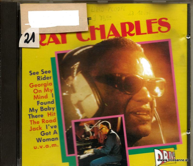 The Magic of Ray Charles 1989 CD