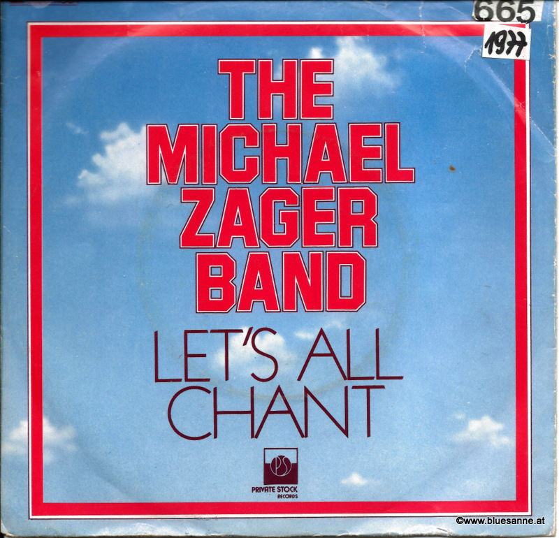 The Michael Zager Band ‎– Let;s All Chant 1977
