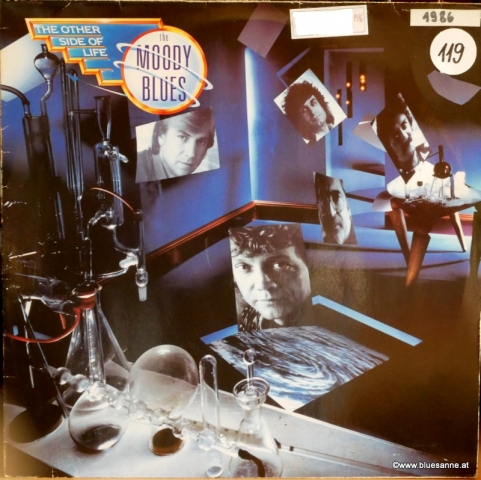 The Moody Blues ‎– The Other Side Of Life 1986 LP