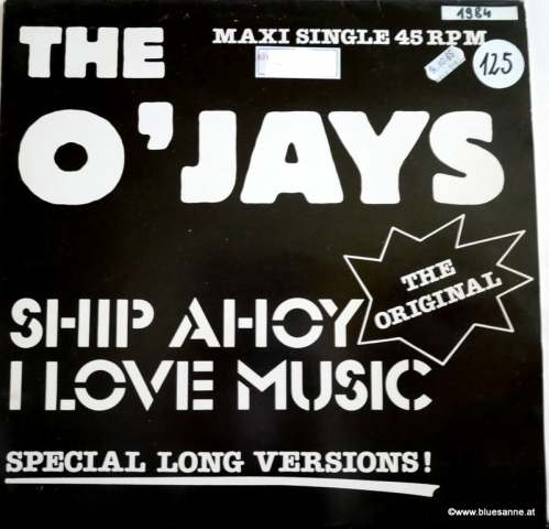 The OJays Ship Ahoy 1984 Maxi Single