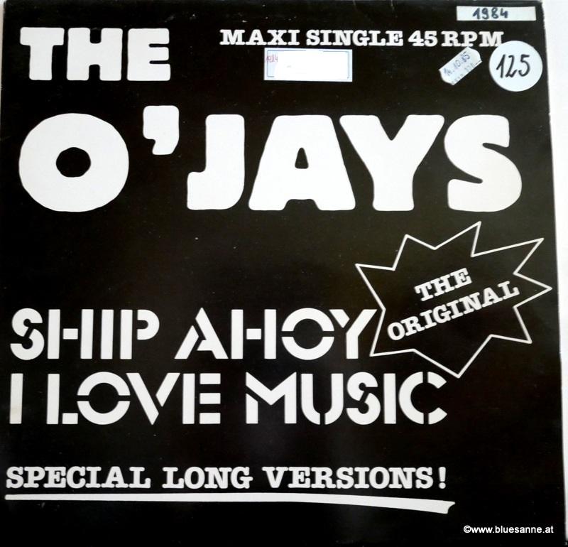 The OJays Ship Ahoy 1984 Maxi Single
