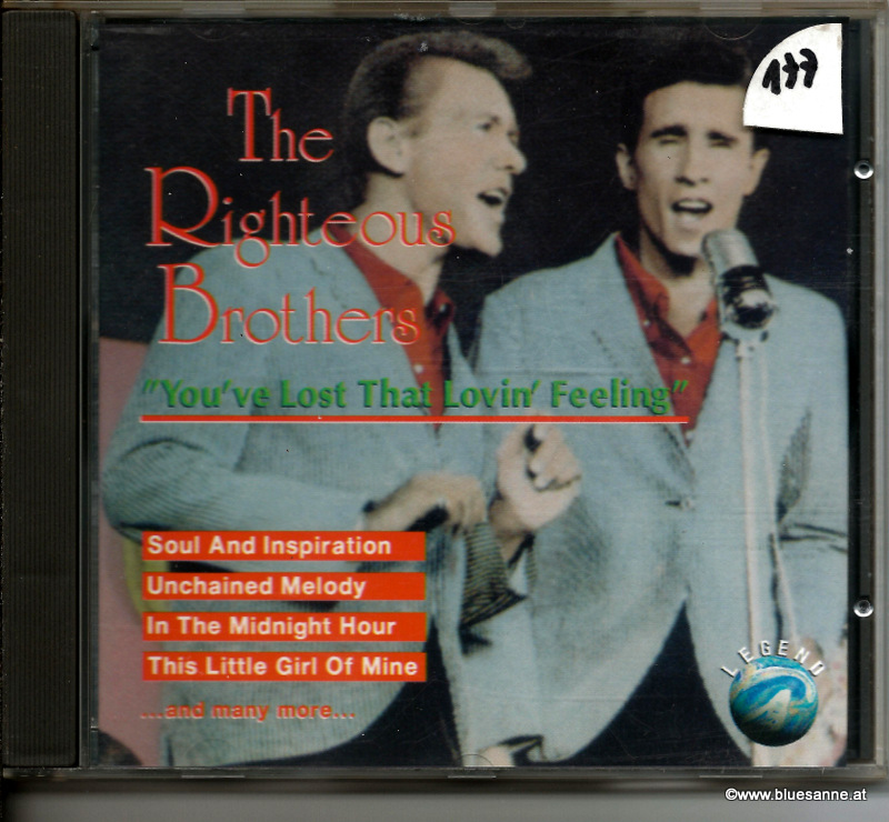 The Righteous Brothers ‎– You´ve Lost That Lovin´Feeling 1993 CD