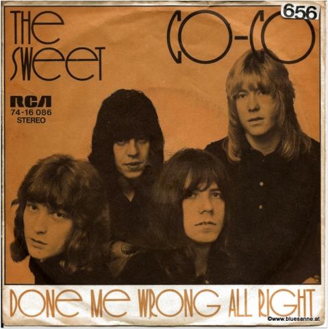 The Sweet Co Co 1971 Single