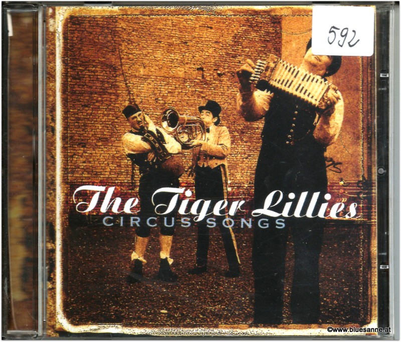 The Tiger Lillies Circus Songs CD