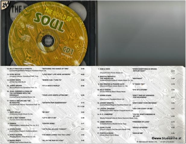 The World of Soul Doppel-CD