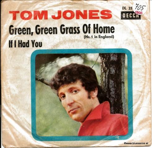 Tom Jones – Green, Green Grass Of Home 1966 Single