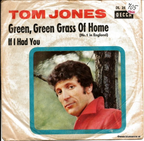 Tom Jones ‎– Green, Green Grass Of Home 1966 Single