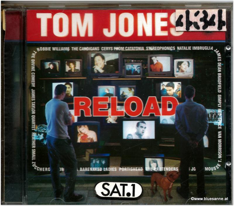 Tom Jones Reload 1999 CD